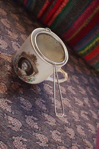 Loose tea cos tea bags are plastic!