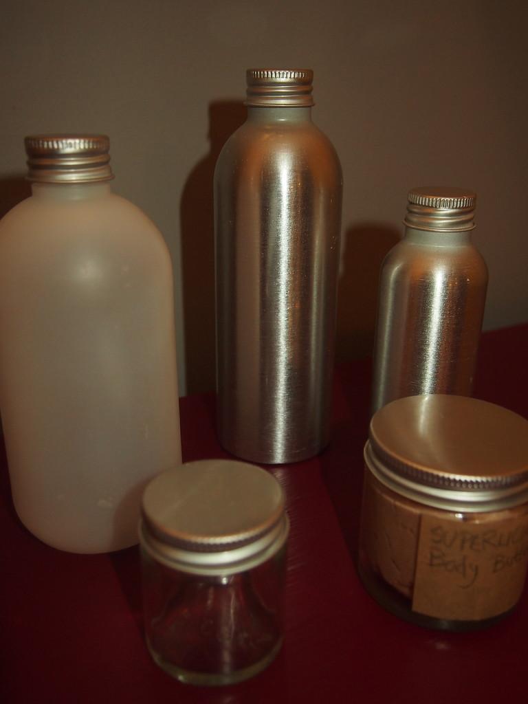 Jars pots plasticisrubbish for Pretty plastic bottles