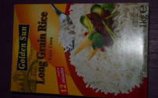 Rice – brown & white