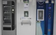 Plastic bottle, glass bottle or milk dispenser