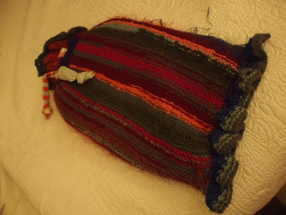 odds and sods hot water bottle cover