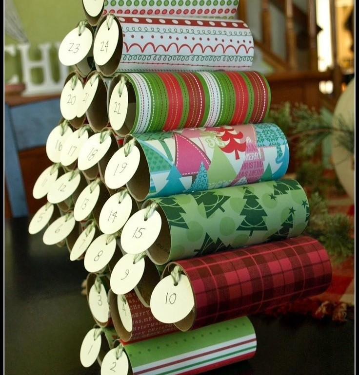 loo roll advent calender