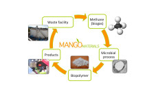 biodegradable plastic from methane